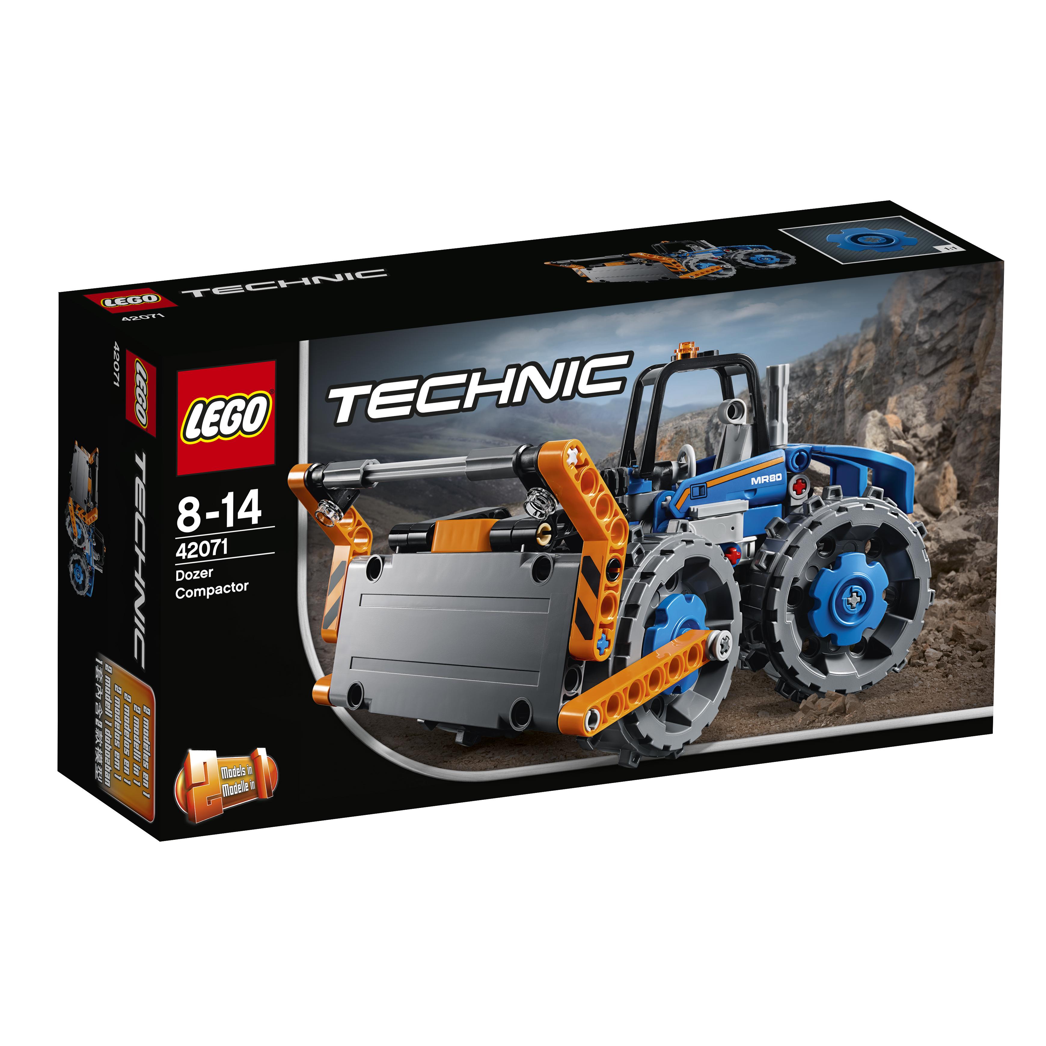 Конструктор LEGO Technic 42071 Бульдозер цена