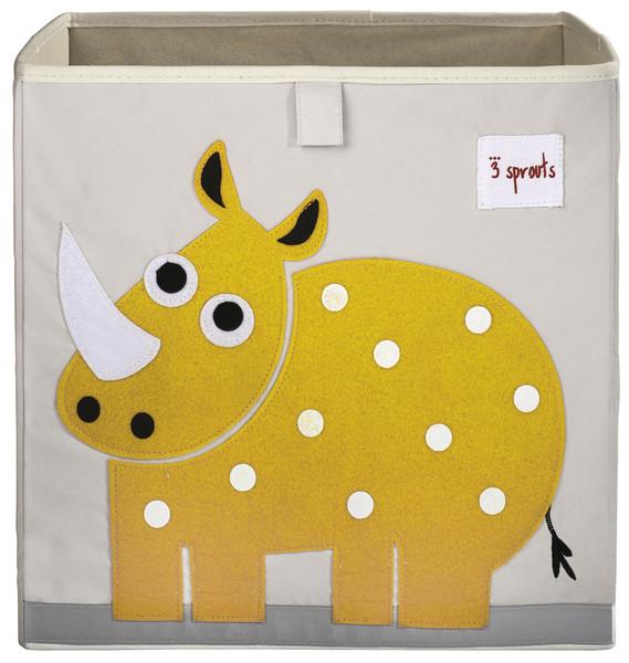Ящики и корзины для игрушек 3 Sprouts «Yellow Rhino»
