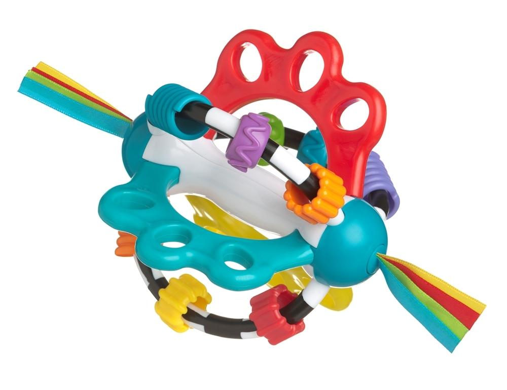 Фото - Погремушка Playgro с ленточками 4082426 подвесные игрушки playgro верблюд