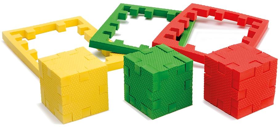 Пазлы Pic&Mix Развивающий пазл-конструктор Pic&Mix «Континент» пазлы pic nmix мой дом