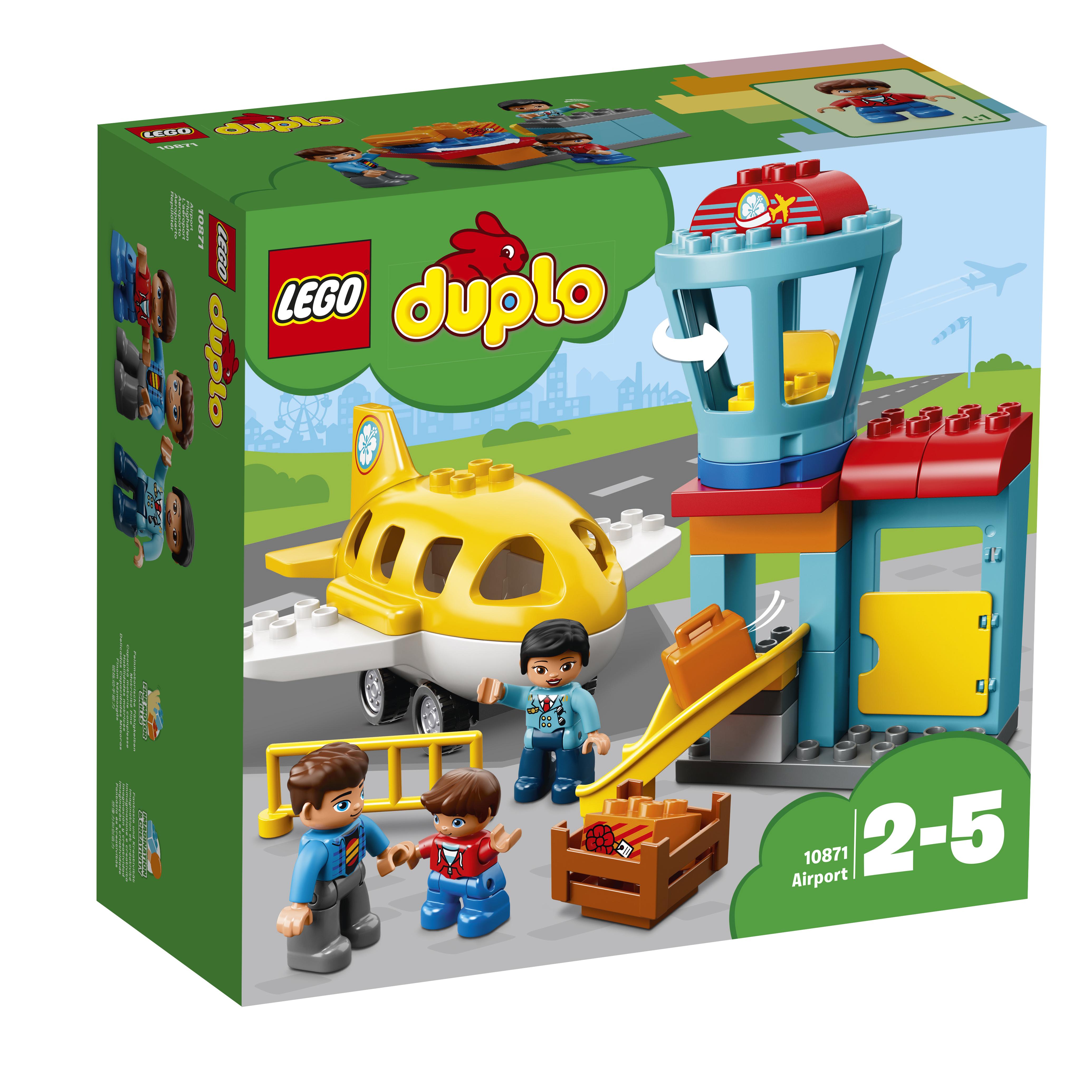 Конструктор LEGO DUPLO Town 10871 Аэропорт lego duplo 10817 времена года