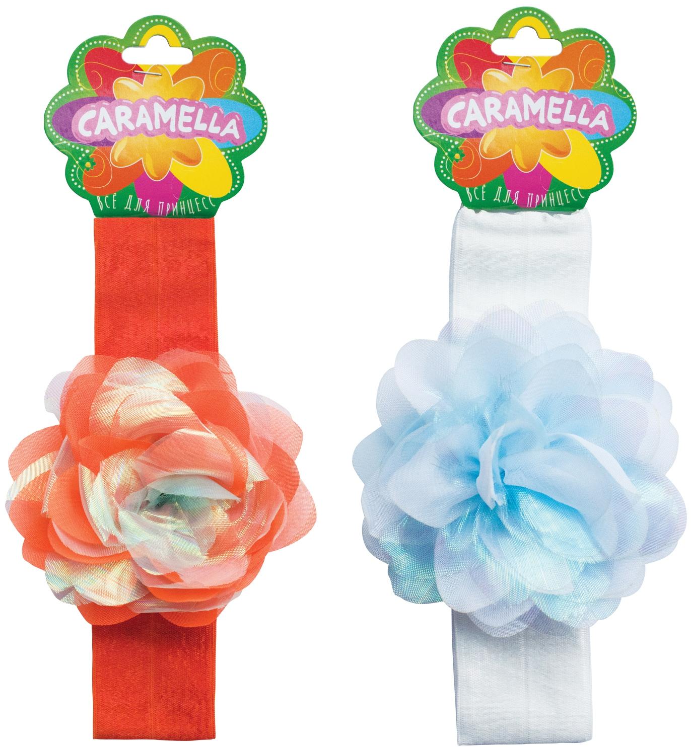 Украшения CARAMELLA Повязка для волос Caramella с цветочком красота розы корона повязка на голову свадебные двухрядные цветочные гирлянды hairband ll9
