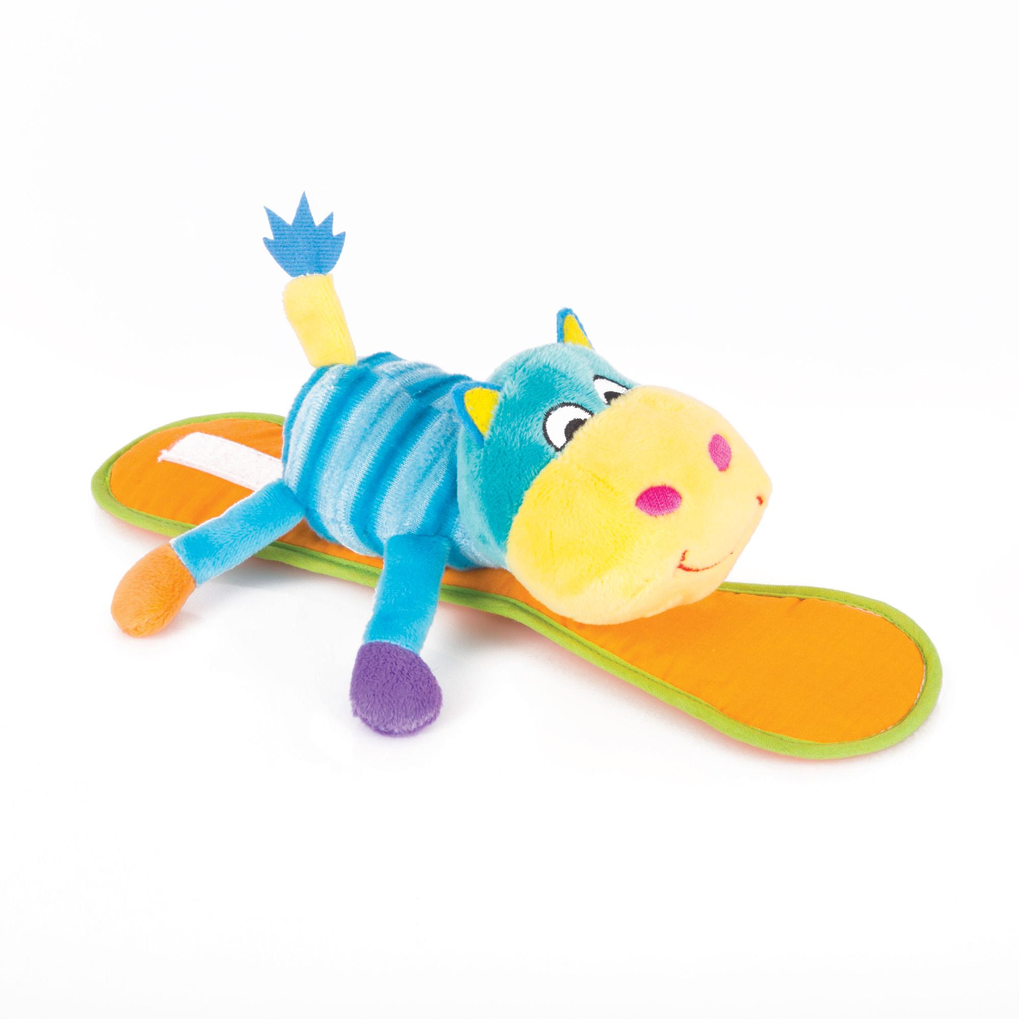 Погремушка Happy Snail Бегемот Бубба 14HSK03BU цены онлайн