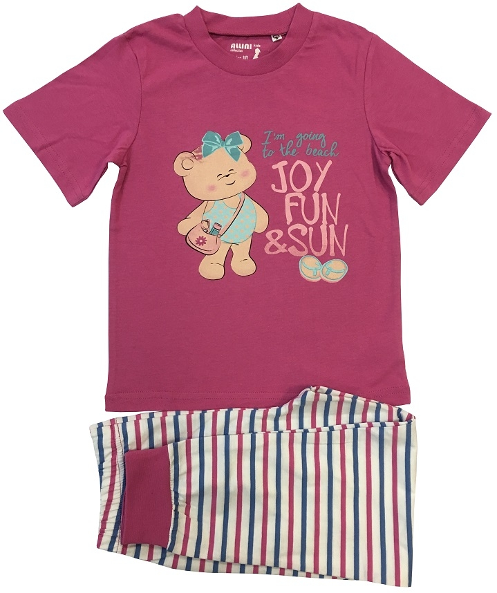 Пижама для девочки Allini 21667 футболка allini kids allini kids