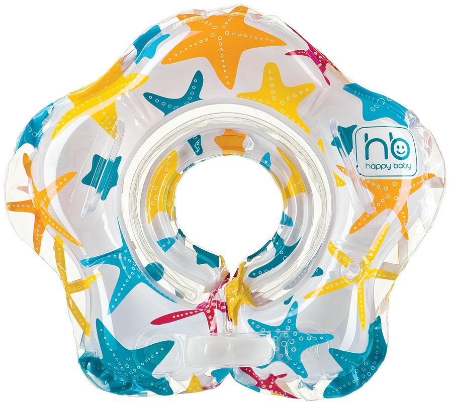 Круг для купания Happy baby Starky музыкальный 3-24 мес.