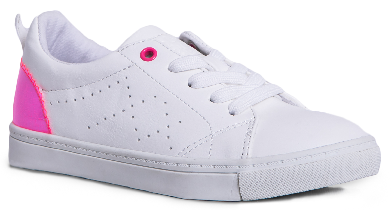 Полуботинки для девочки Barkito белые/ фуксия кроссовки barkito krs18310
