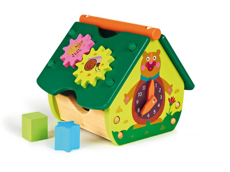 Сортер Oops Домик игры и игрушки в дорогу oops подвеска на кроватку и коляску oops в асс
