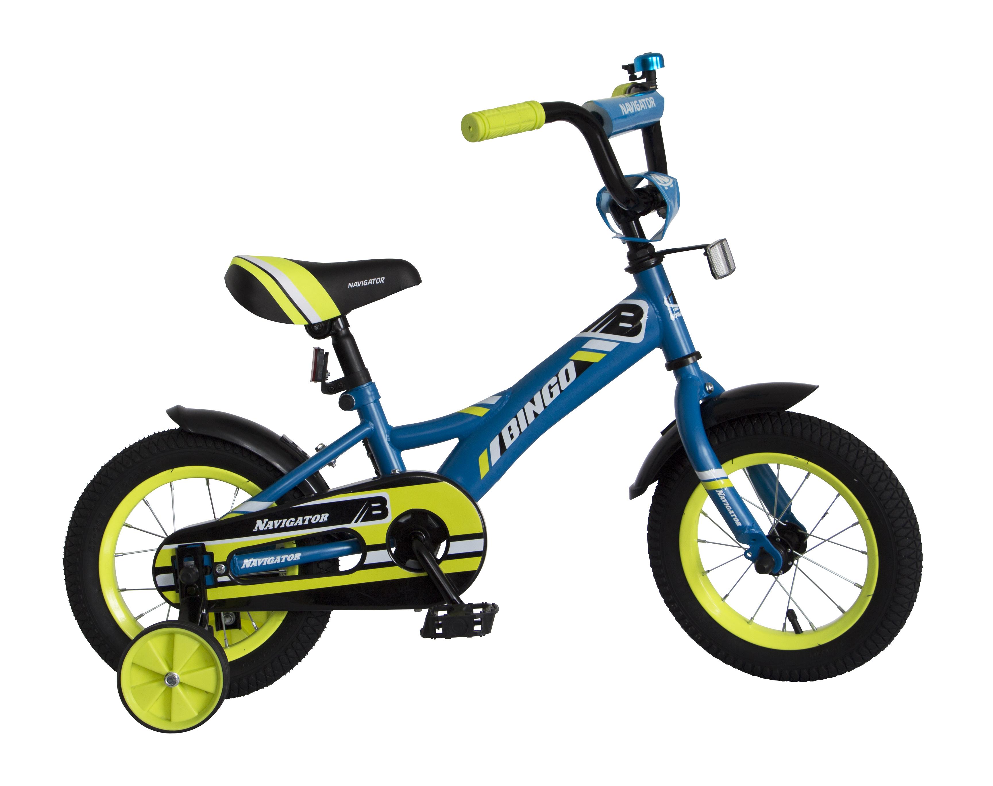 Велосипед двухколесный Navigator Bingo голубой