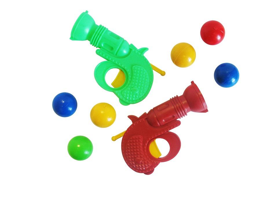 Оружие детское Пластмастер 2 пистолета с шарами игровой набор пластмастер 2 пистолета с шарами