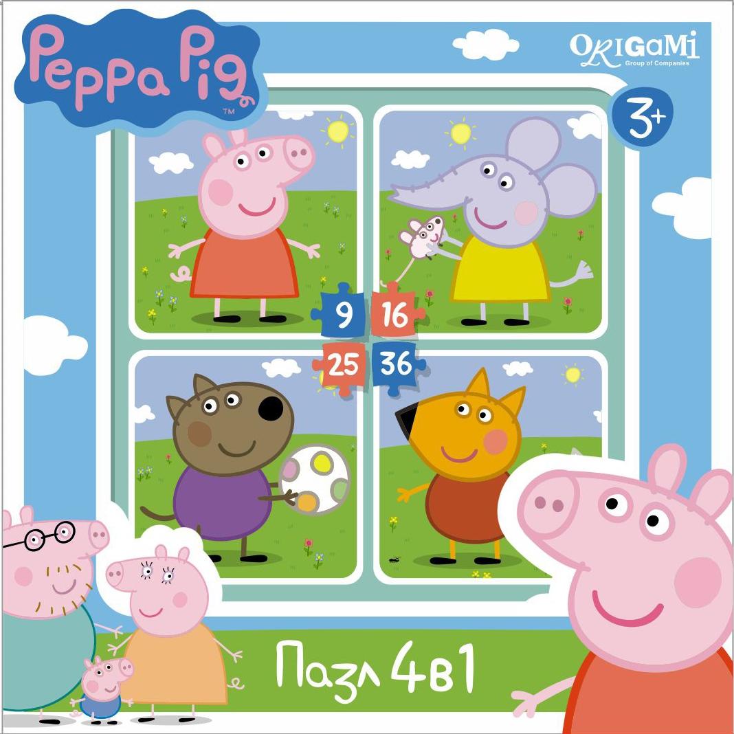Peppa Pig Peppa Pig На прогулке peppa pig пазл для малышей хобби 6 в 1