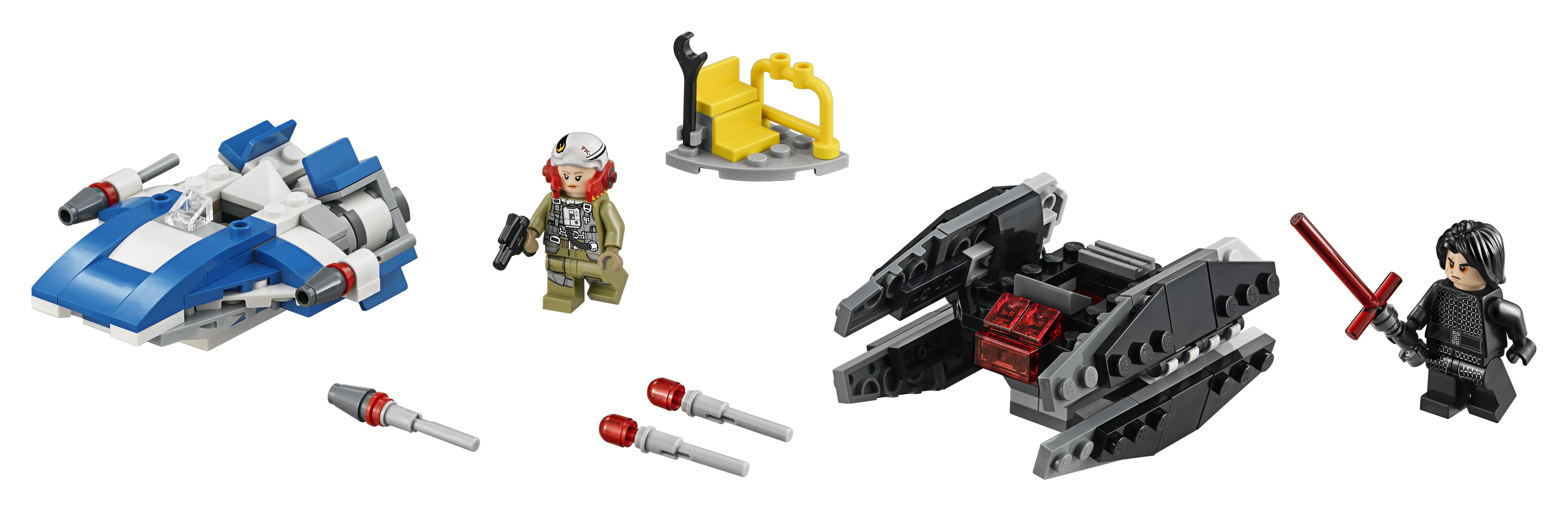 Купить Конструктор, 75196 Истребитель типа A против бесшумного истребителя СИД, 1шт., LEGO 75196, Китай