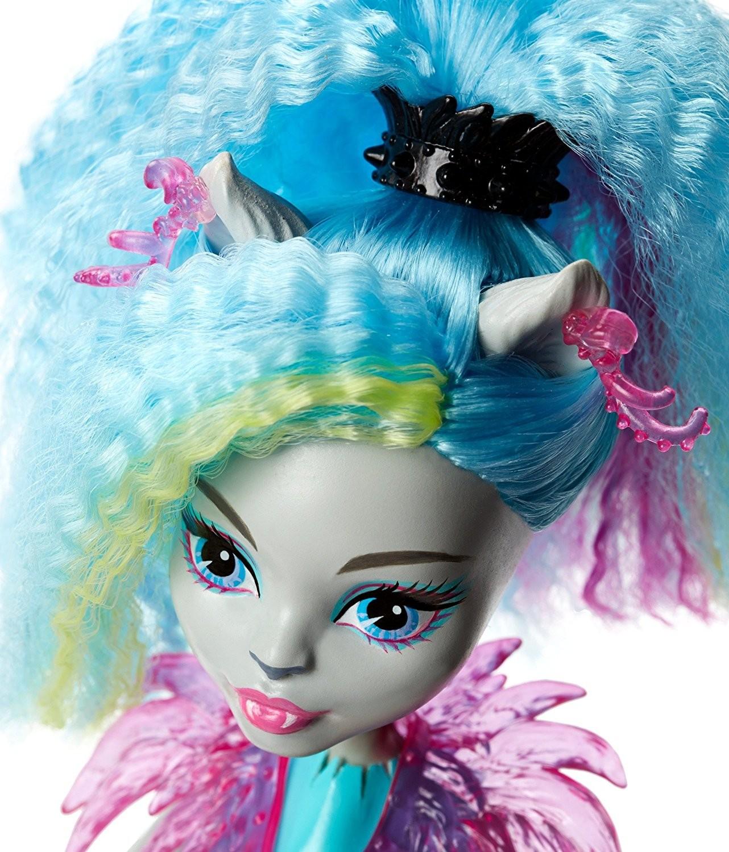 Кукла Mattel Под напряжением: Неоновые монстряшки mattel monster high dvh72 школа монстров электро фрэнки из серии под напряжением