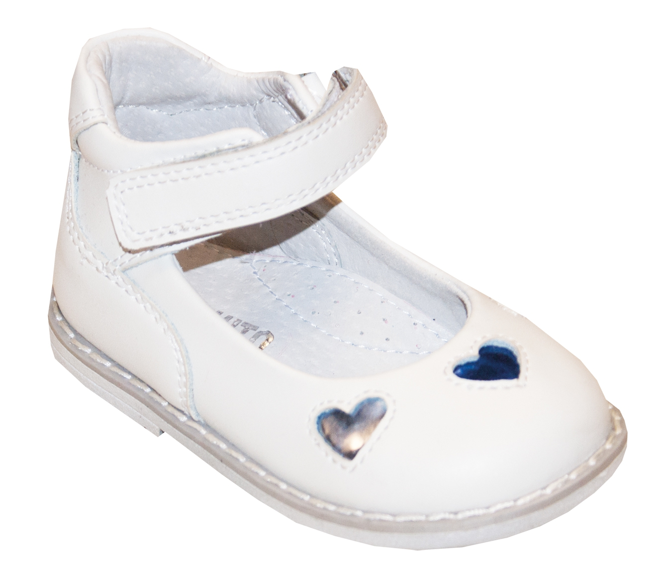 Туфли Barkito Туфли для девочки Barkito, белые aokang aokang мужские белые туфли