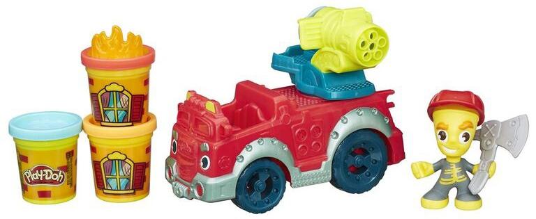 Игровой набор Hasbro Город Пожарная машина набор для творчества play doh город пожарная станция