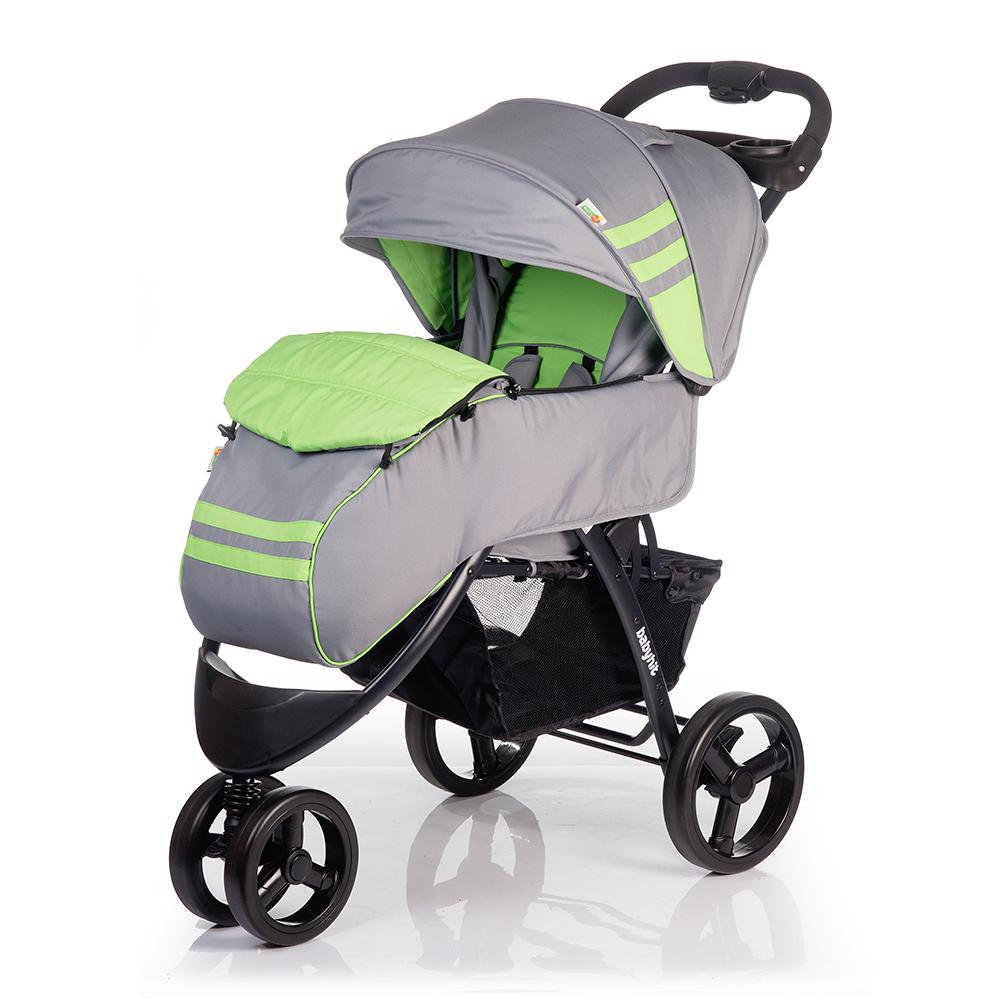 Купить Детские коляски, Voyage Green Grey, 1шт., Babyhit Voyage_Green-Grey, Китай, зеленый с серым