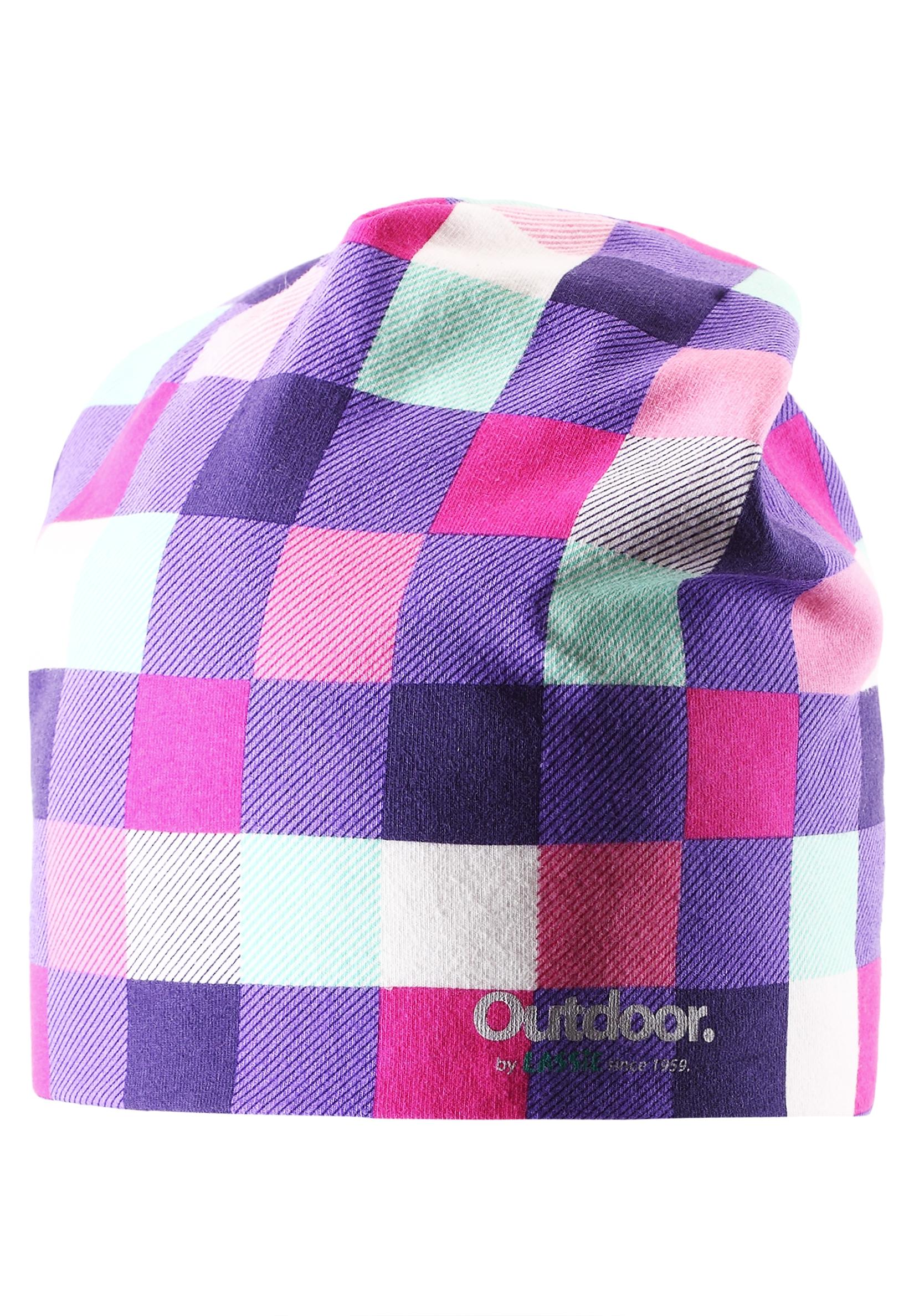 Головные уборы Lassie Шапка для девочки Beanie dark lilac, сиреневая шапка женская neff daily sparkle beanie dark teal