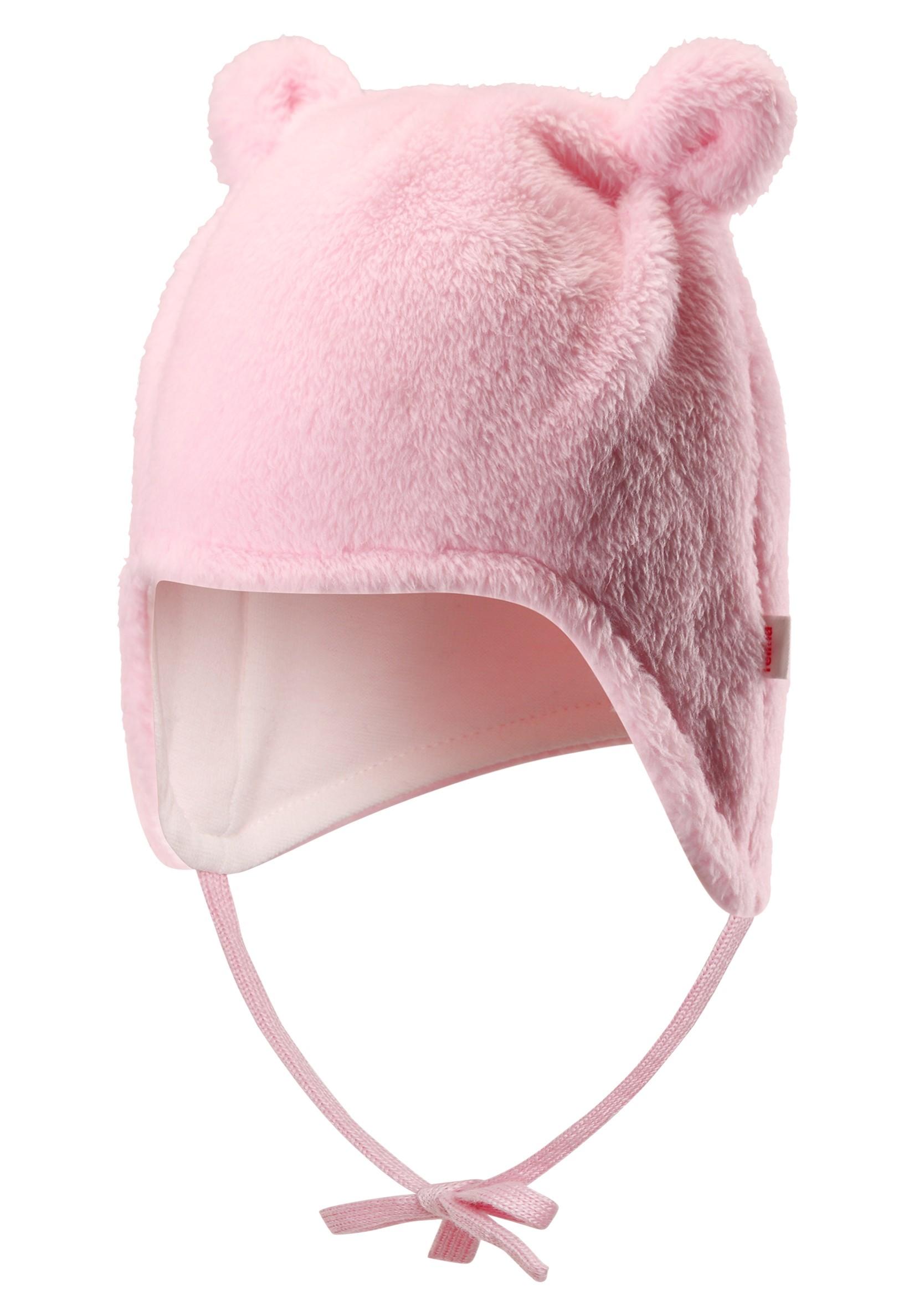 Головные уборы Reima Шапка для девочки Reima розовая reima шапка lilja reima для девочки
