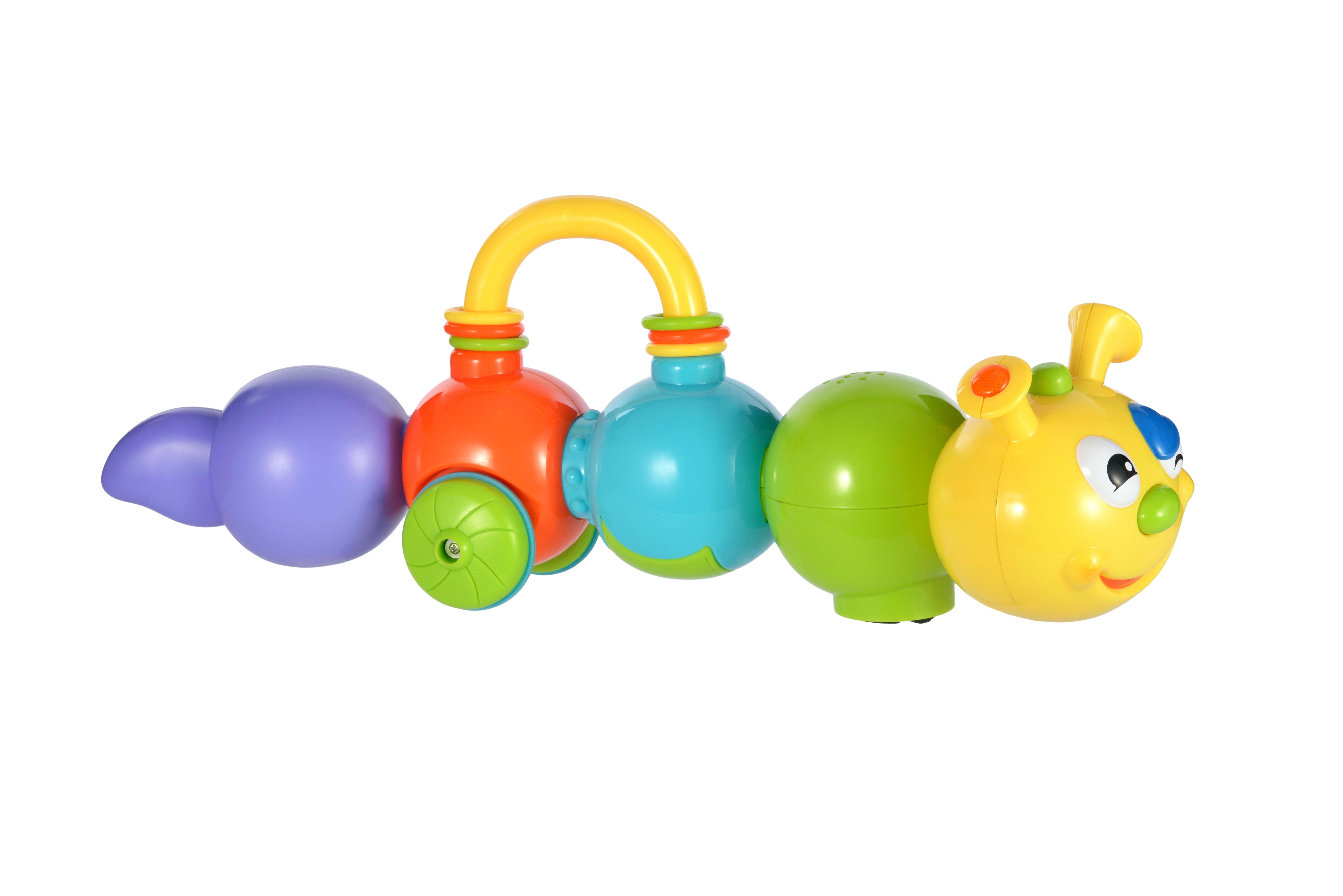 Развивающие игрушки, Говорящая гусеница, Жирафики, Китай, Мультиколор  - купить со скидкой