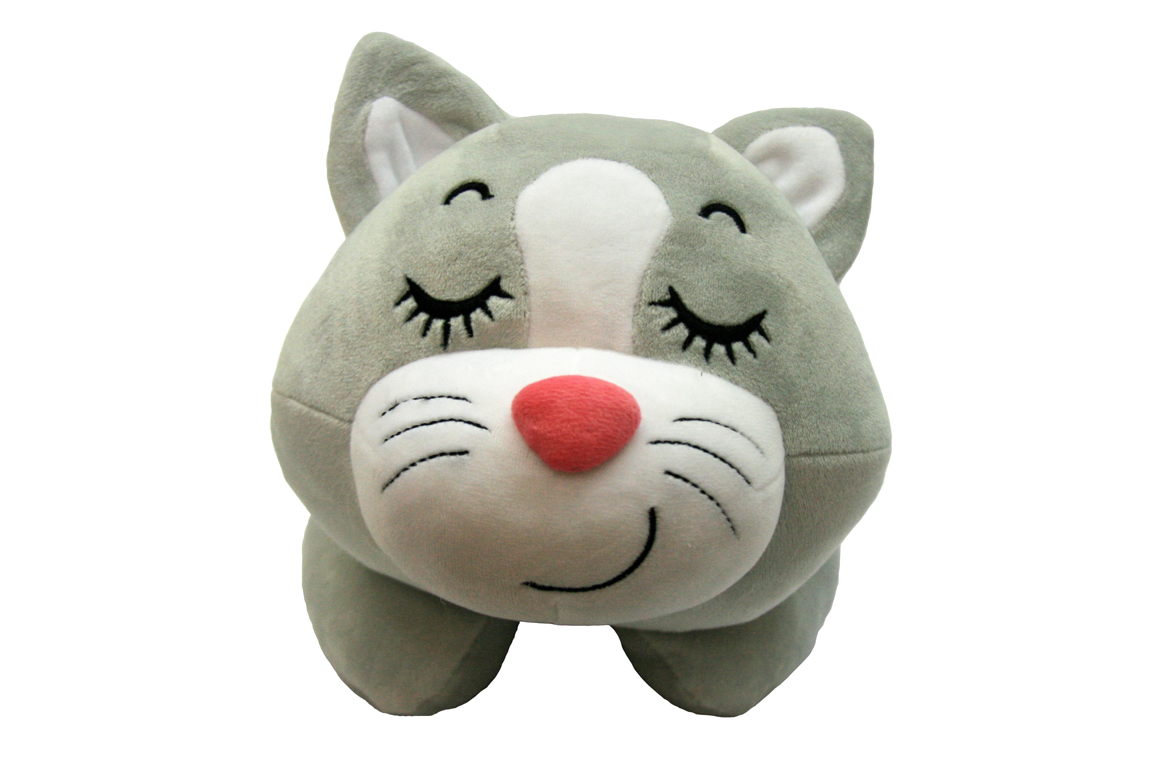 Мягкие игрушки СмолТойс Мягкая игрушка СмолТойс «Котенок Слиппи» игрушка арт 1805 36 мягкая игрушка котенок трехшерстный м
