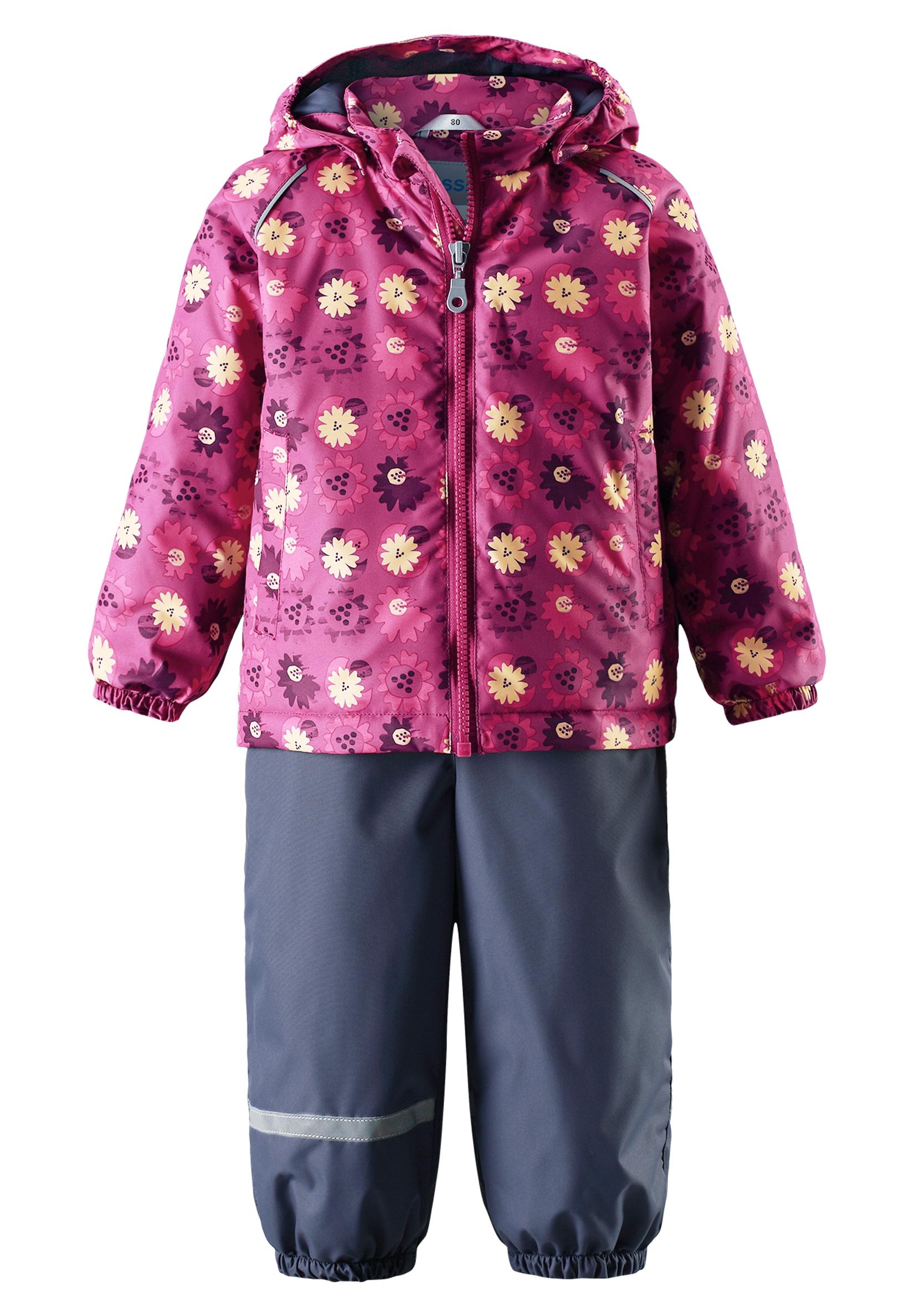 Купить Комплекты утепленные, Комплект для девочки Lassie by Reima, розовый, Китай, pink, Женский