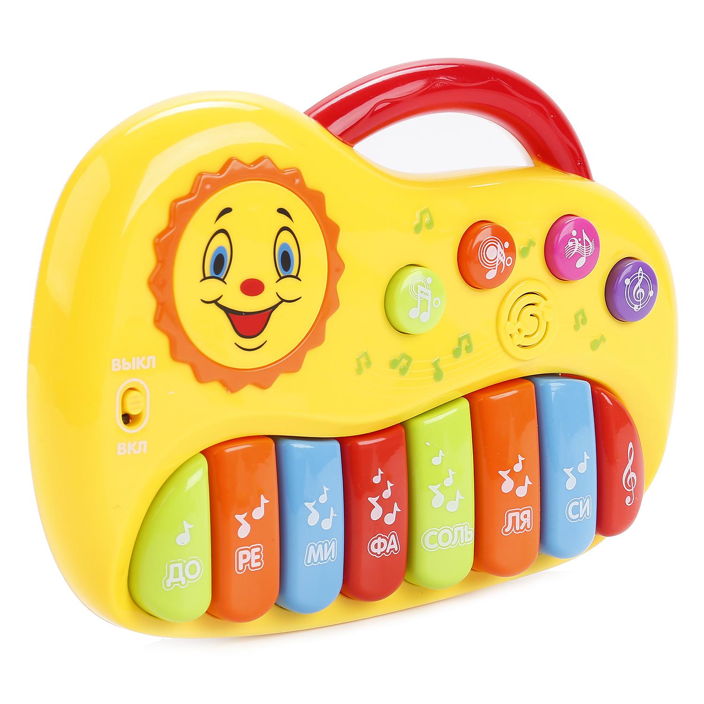 Развивающая игрушка Умка Мое первое пианино с песнями В. Шаинского playgo развивающая игрушка мое первое пианино цвет желтый