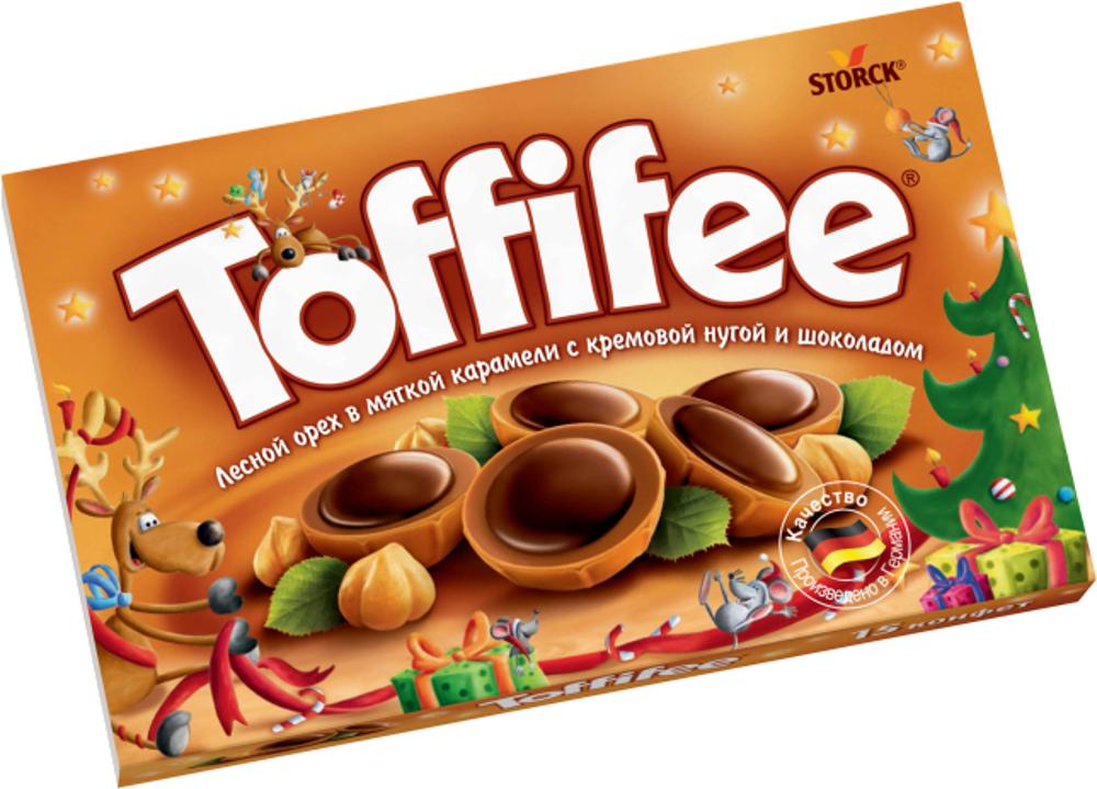Десерты Toffifee Toffifee 125 г хлебная смесь рождественский хлеб в праздничной упаковке ограниченный выпуск