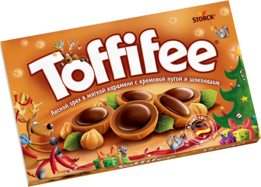 Десерты Toffifee Toffifee 125 г ростагроэкспорт желе ананас 125 г