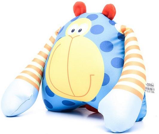 Мягкие игрушки СмолТойс Подушка-антистресс «Обезьянка Зося», СмолТойс смолтойс подушка антистресс гадкий я в31 31 см 2898 кр 31