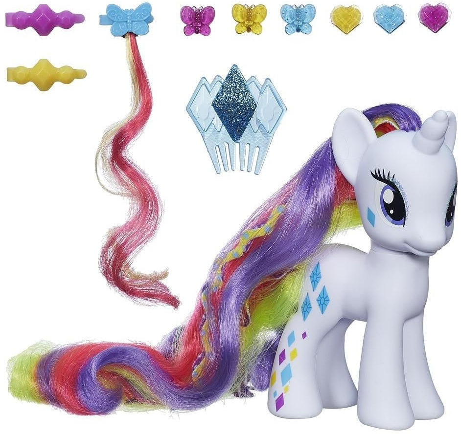My Little Pony My Little Pony Пони-модница Делюкс Rarity брелок my little pony пони rarity