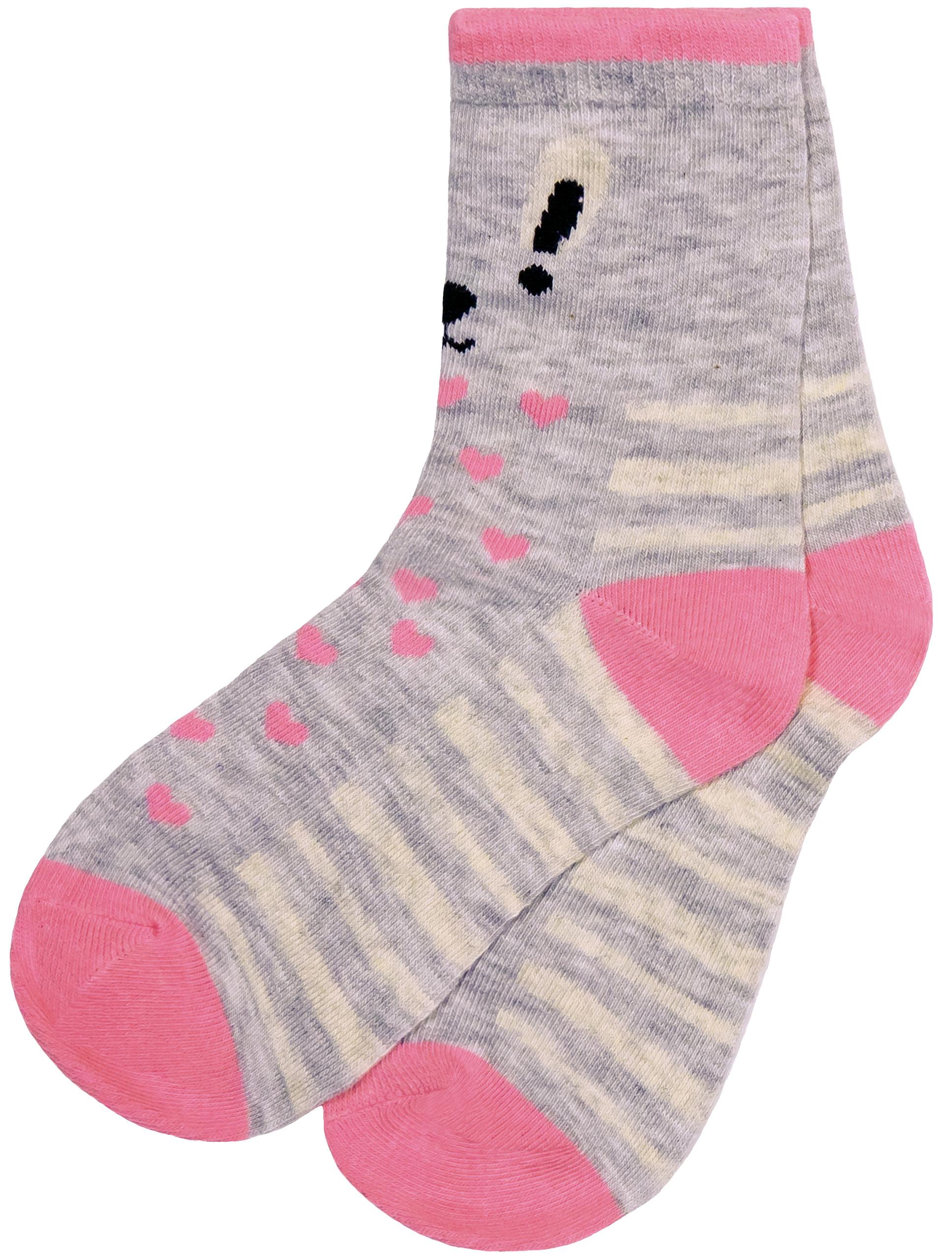 Носки для девочки Barkito S18G3010T носки barkito носки для мальчика комплект 3 пары barkito темно синие серые темно синие с рисунком в полоску