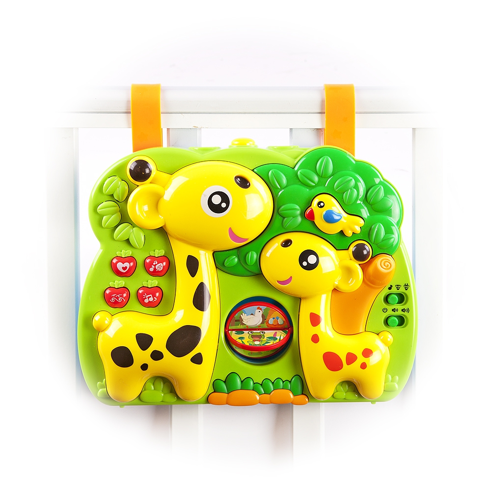 Развивающий центр Наша игрушка Жирафики звуки природы для детей малыш в лесу mp3