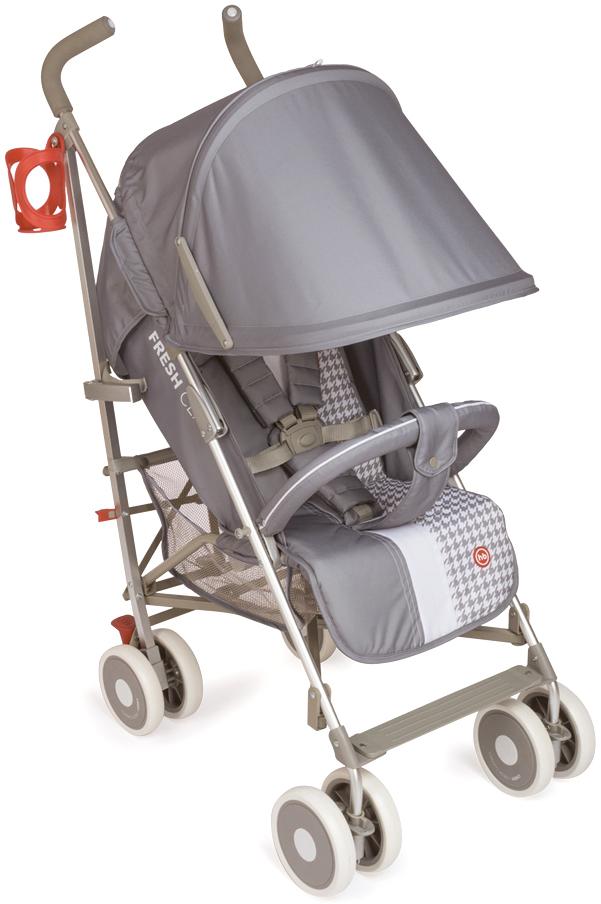 Купить со скидкой Коляска прогулочная Happy Baby «Cindy» светло-серый