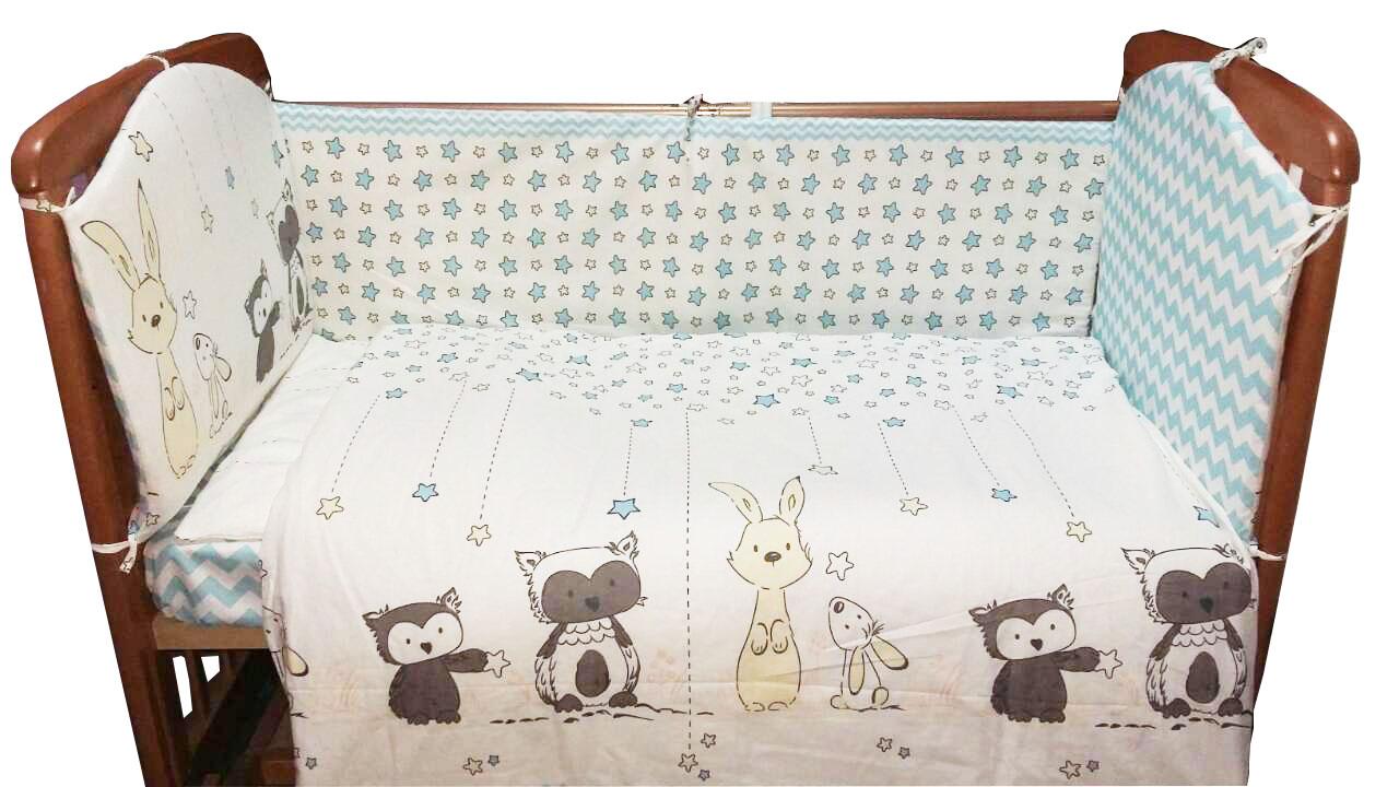 Постельное белье для малышей Луняшки Лесные друзья цена