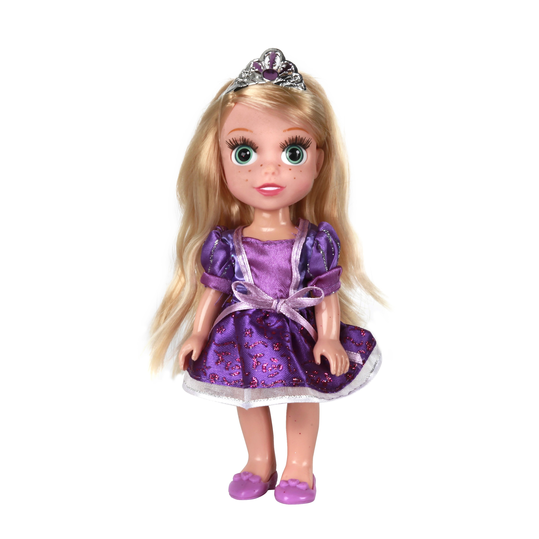 Другие куклы Карапуз Рапунцель карапуз кукла рапунцель со светящимся амулетом 37 см со звуком принцессы дисней карапуз