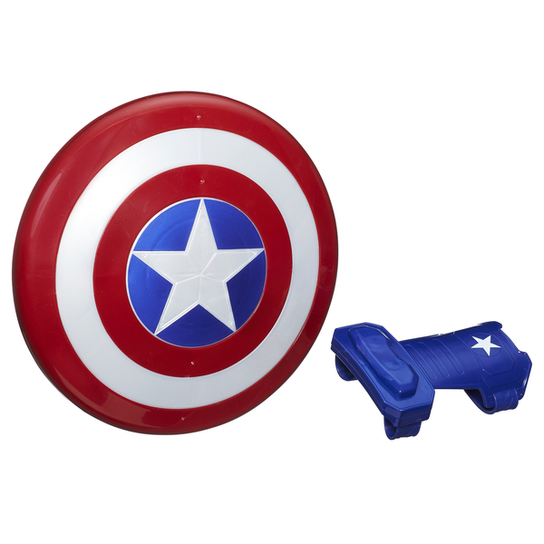 Игровой набор Avengers Первый мститель щит и перчатка B9944