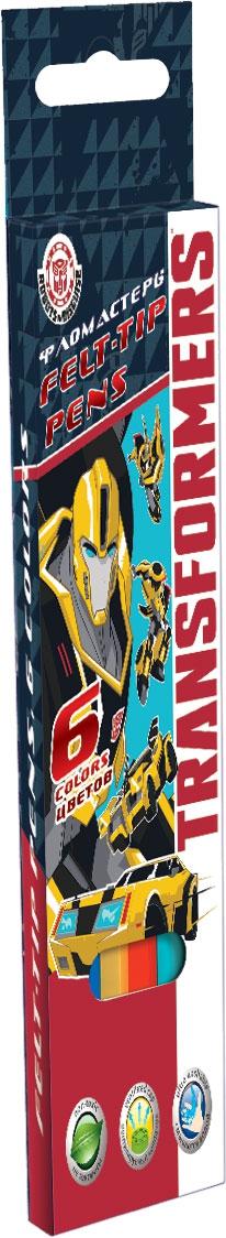Карандаши цветные Transformers 6 цветов ручки и карандаши transformers transformers 12 шт