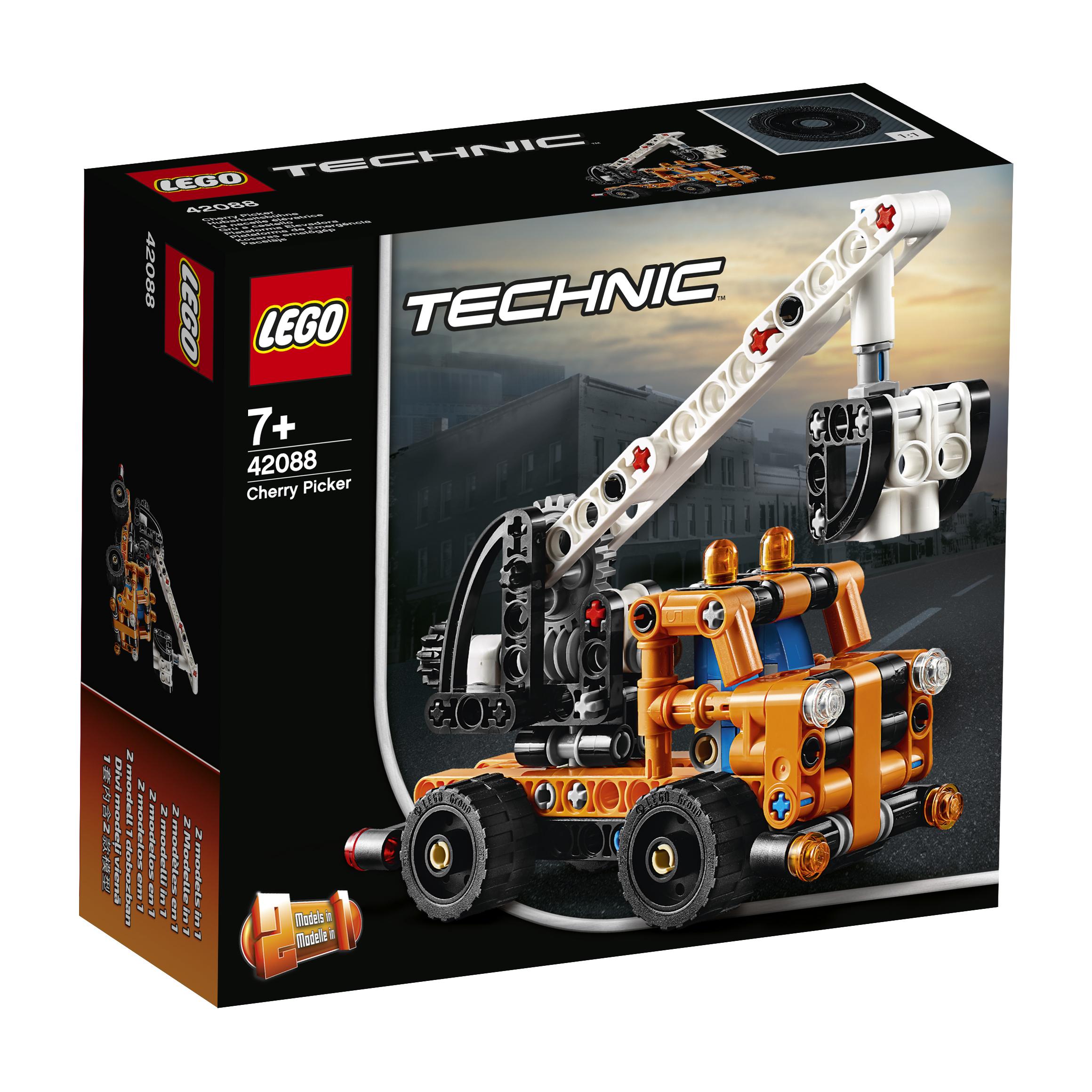 Конструктор LEGO Technic 42088 Ремонтный автокран цена