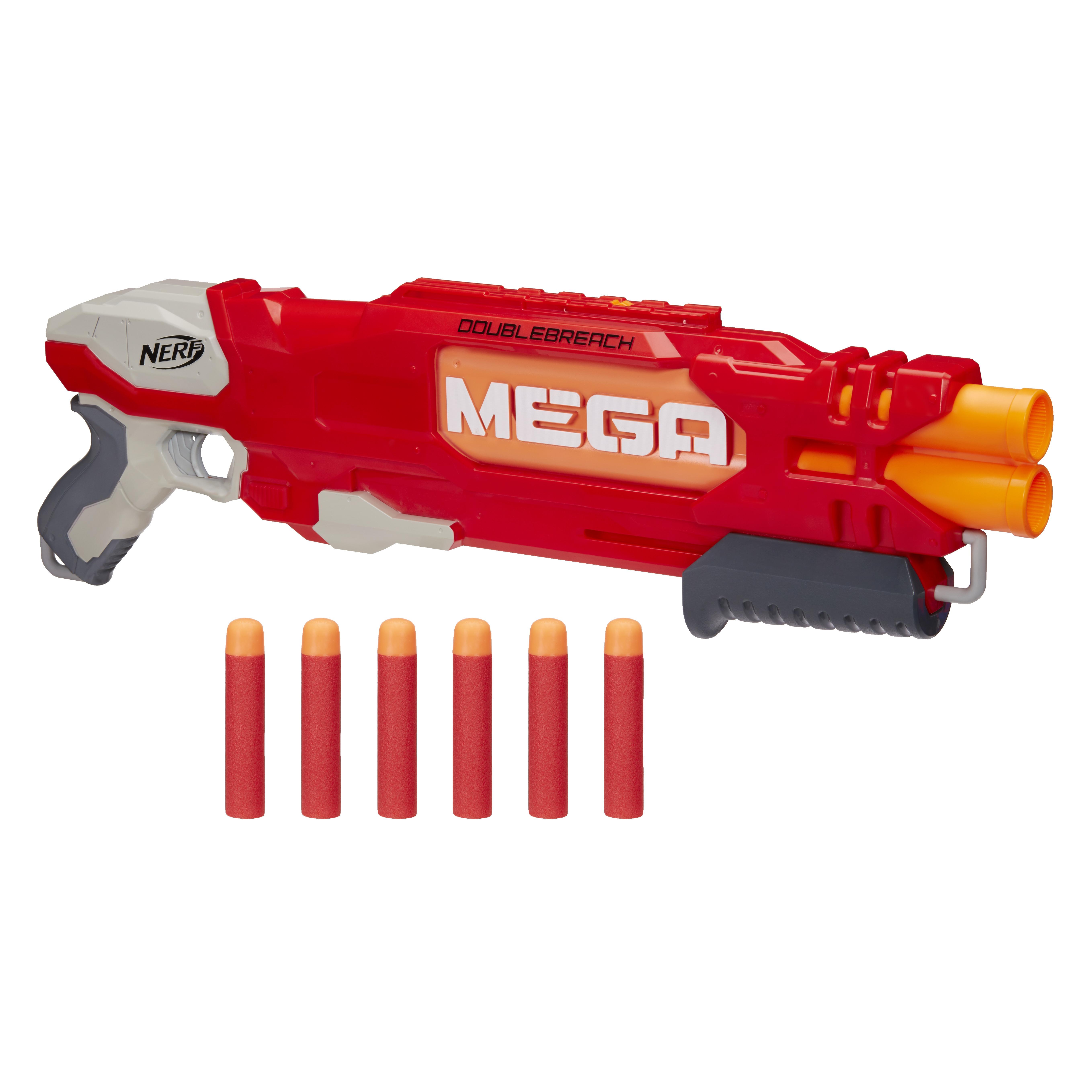 Бластеры NERF Даблбрич игрушечное оружие nerf hasbro мега бластер даблбрич