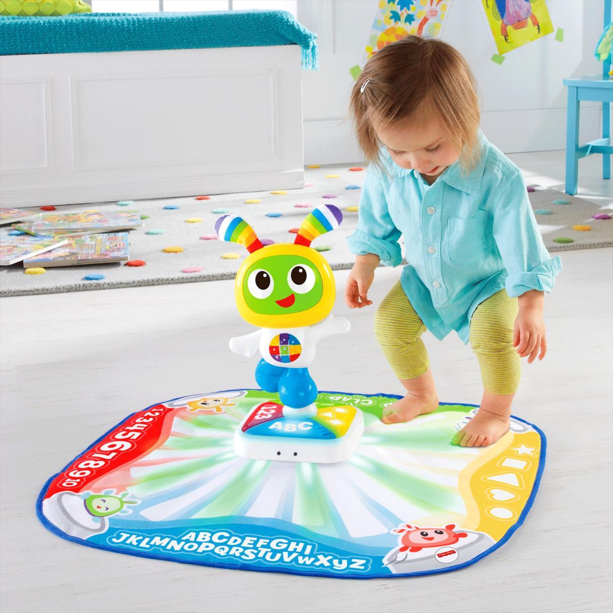 Развивающие игрушки Fisher Price Танцевальный коврик Робота Бибо mattel танцевальный коврик робота бибо fisher price