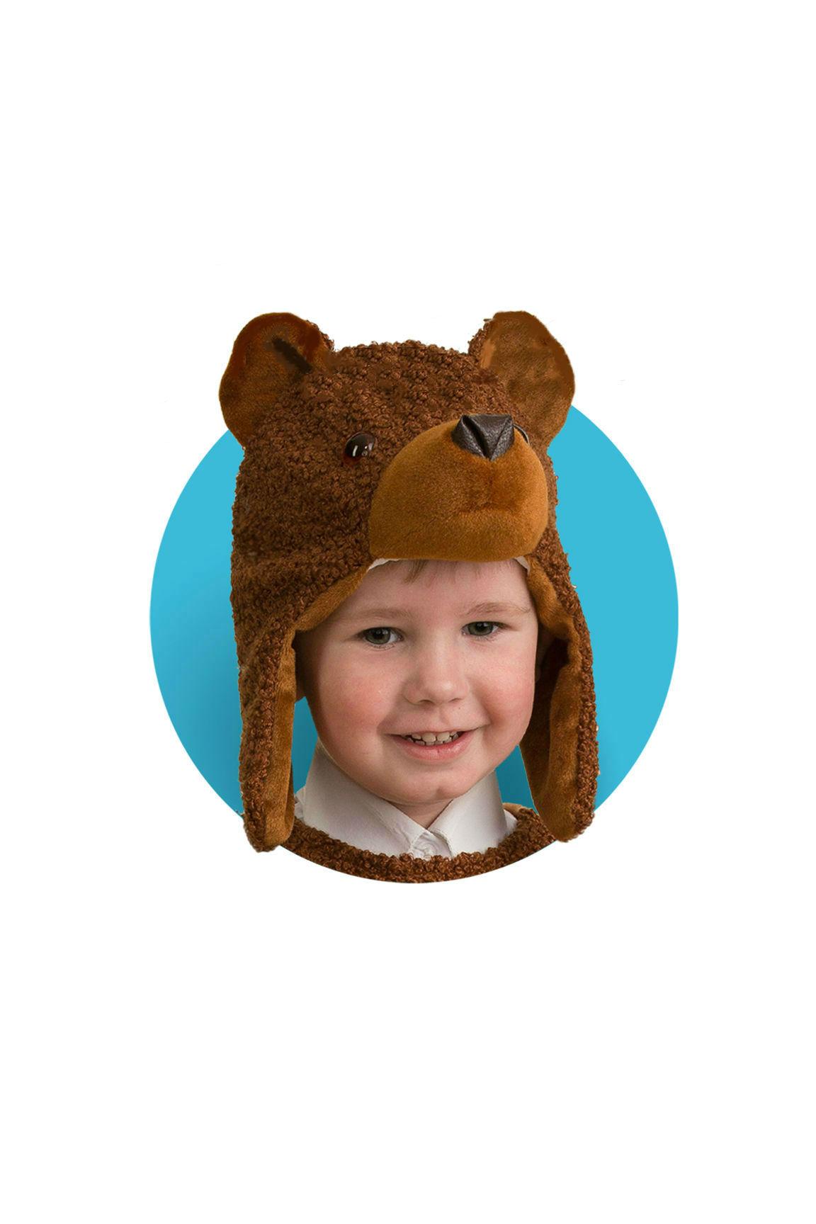 Костюмы и маски Батик Маска Батик «Медвежонок»