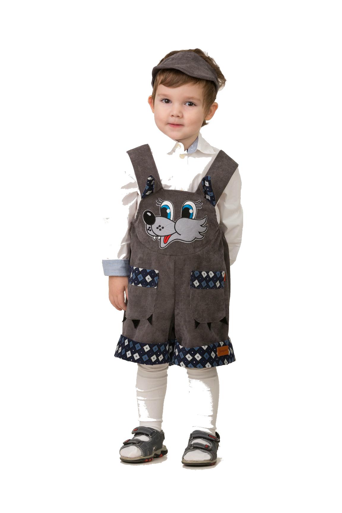 Костюмы и маски Батик Карнавальный костюм Батик «Лапки-царапки. Волчонок Крепыш» цена