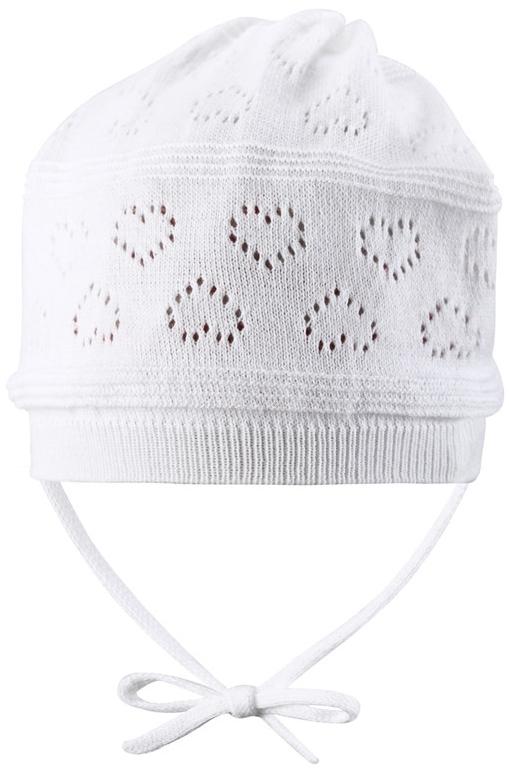 Шапка Reima Velvety белый reima шапка lilja белый меланж