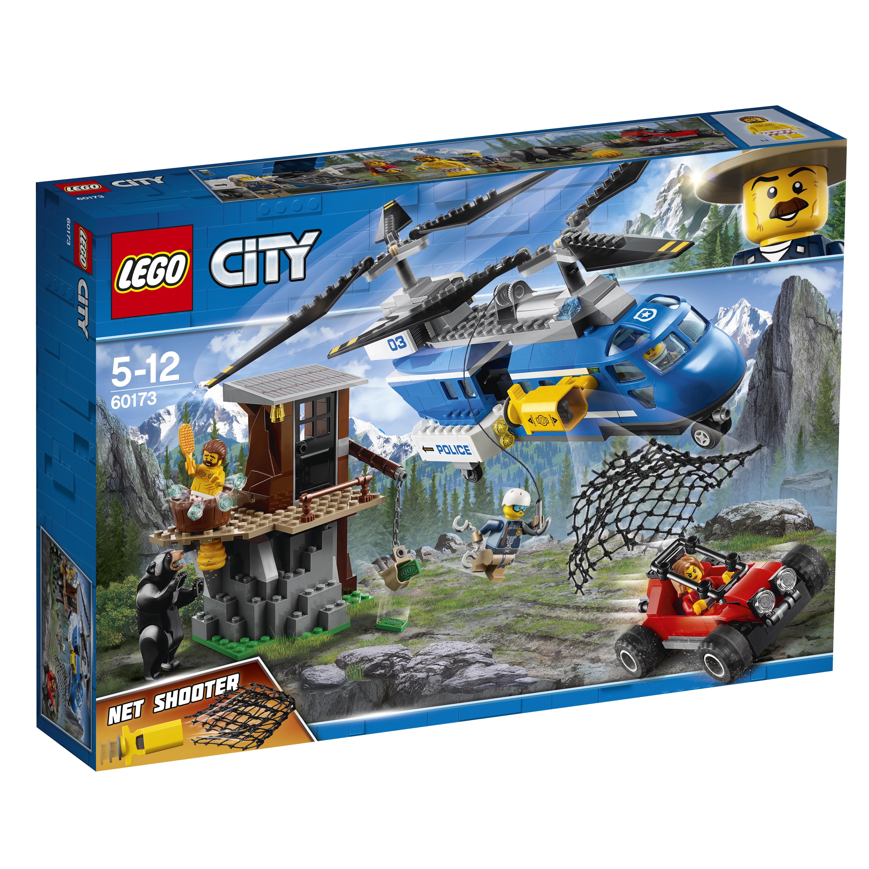 Конструктор LEGO City Police 60173 Погоня в горах конструктор lego city погоня в горах 303 элемента 60173