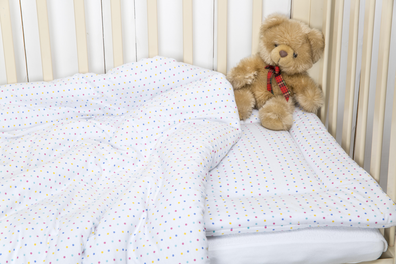 Комплект в кроватку Kupu-Kupu одеяло 140х110 см + подушка 60х40 см постельные принадлежности kupu kupu подушка li ly бамбук в стеганом чехле 60х40 см