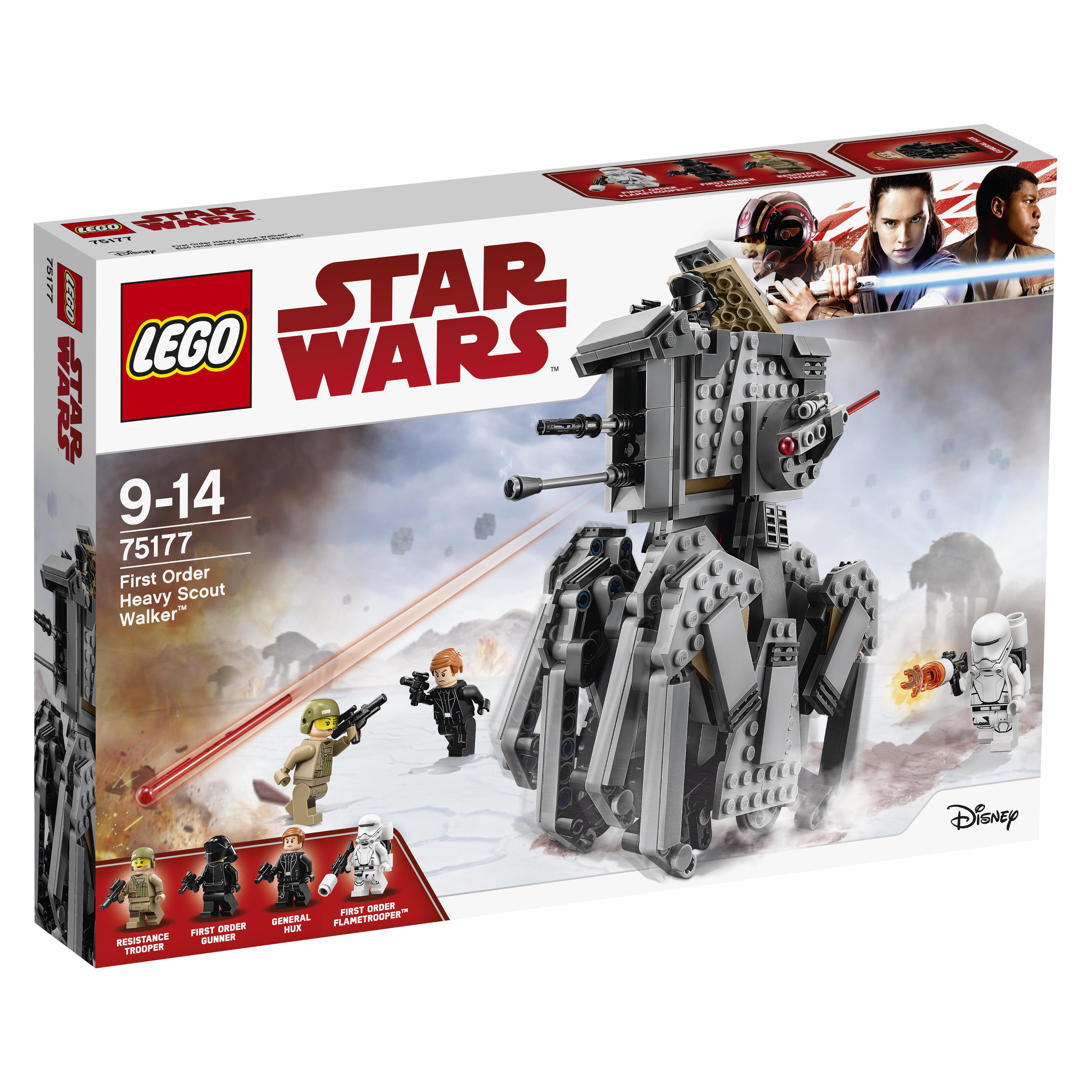 Конструктор LEGO Star Wars 75177 Тяжелый разведывательный шагоход Первого Ордена конструктор lego star wars 75132 боевой набор первого ордена