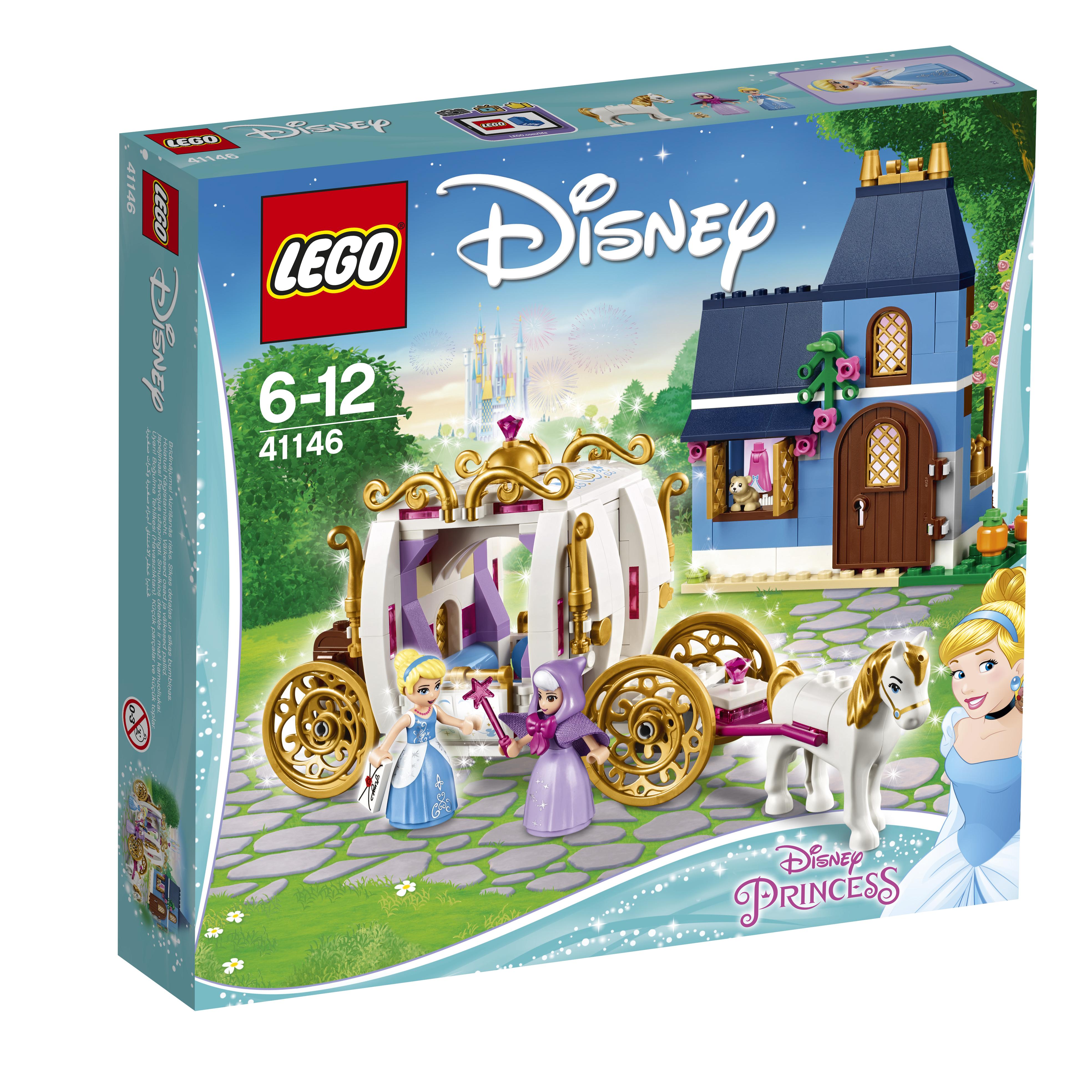 Конструктор LEGO Сказочный вечер Золушки