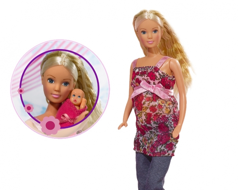 Фото - Кукла steffi Штеффи: беременная кукла штеффи беременная королевский набор 29 см