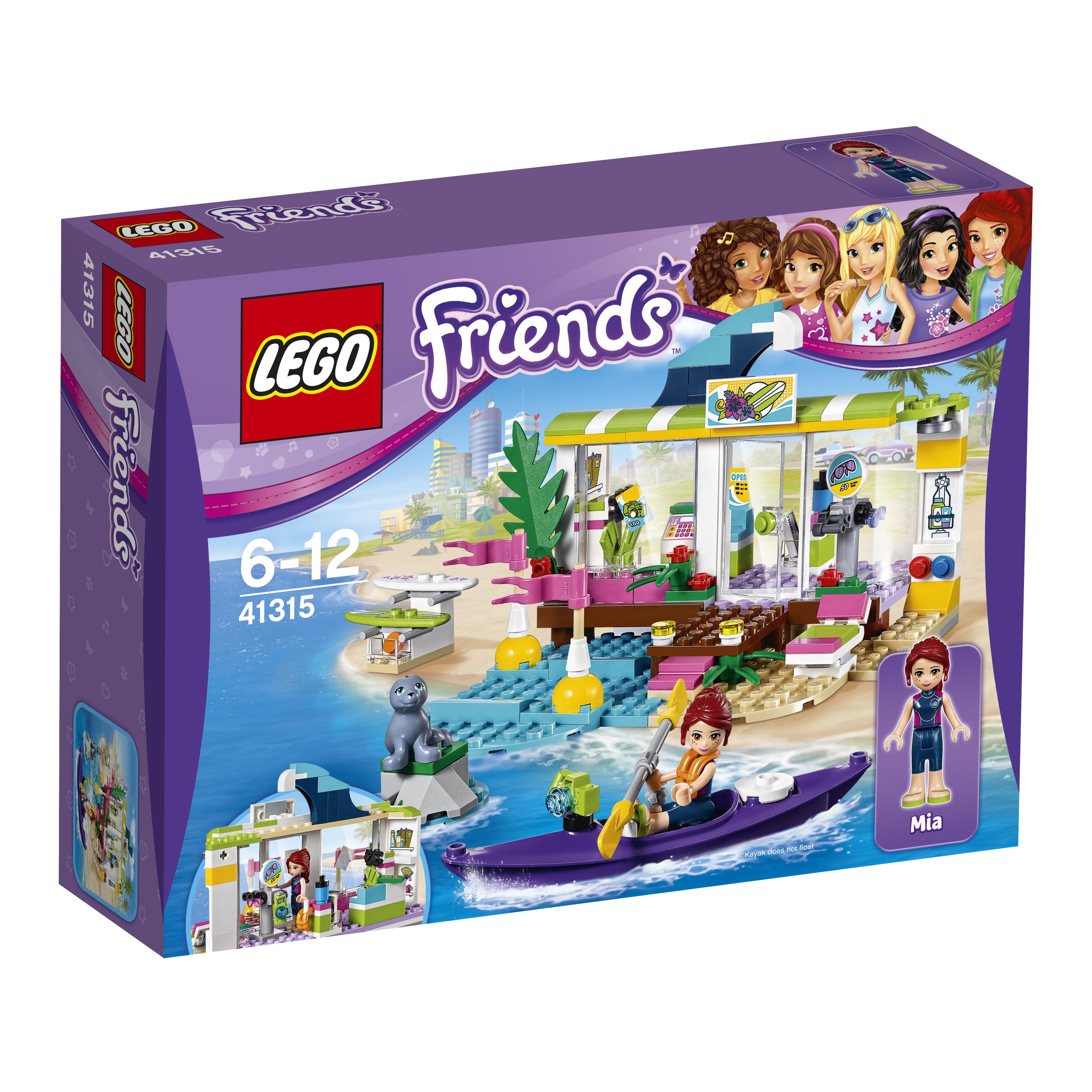 Конструктор LEGO Сёрф-станция lego friends сёрф станция 41315