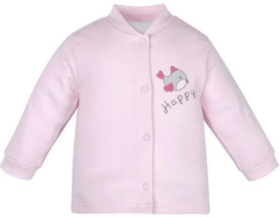 Первые вещи новорожденного Barkito Кофточка для девочки Зайчонок Barkito розовый