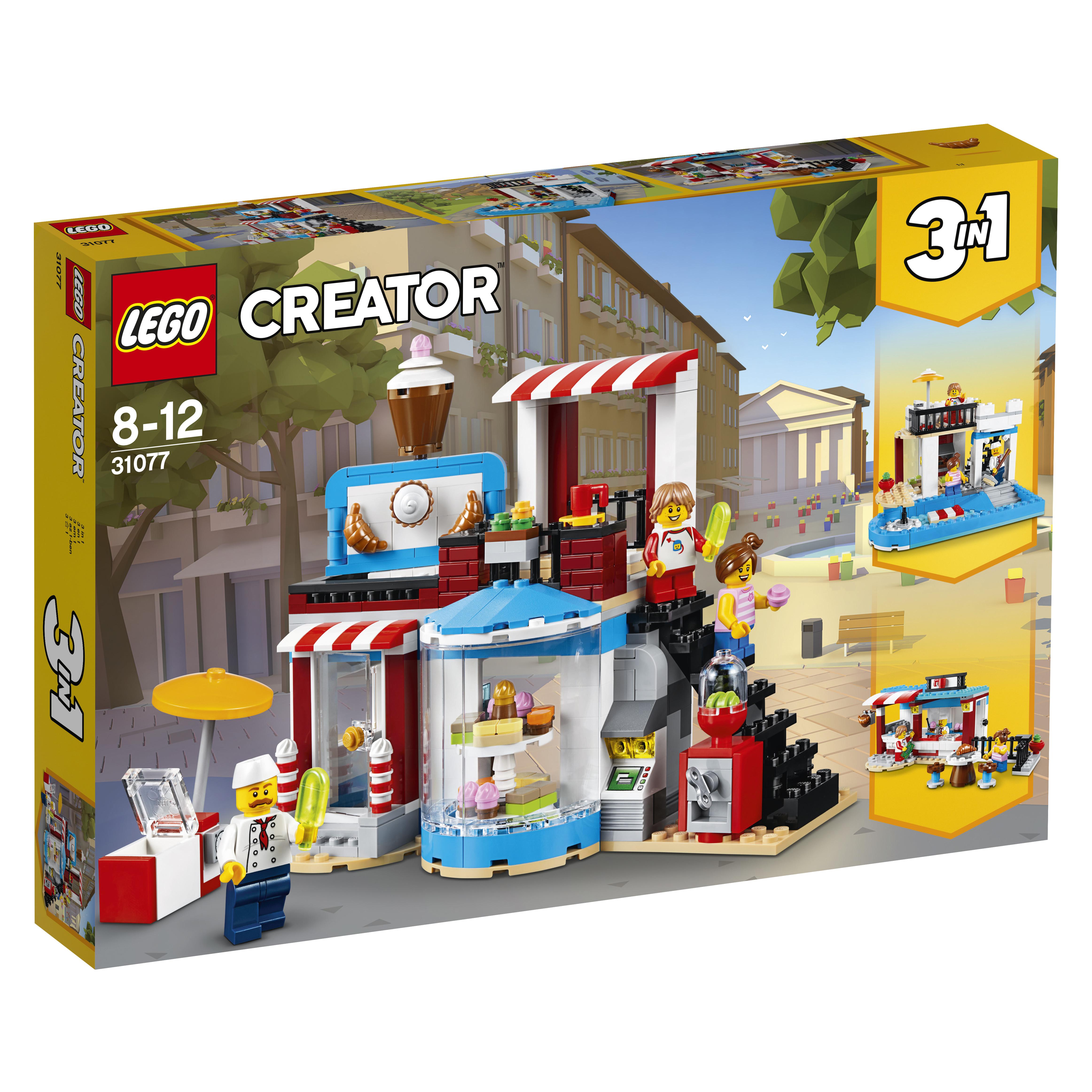 Конструктор LEGO Creator 31077 Модульные сборка: приятные сюрпризы